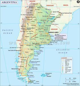 kaart-argentinie